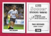 Derby County Paul Goddard 104